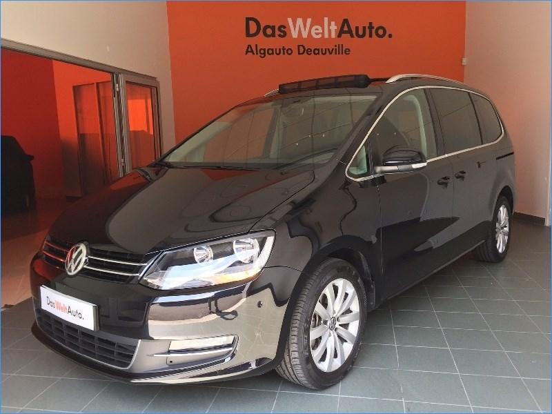 volkswagen sharan 2 0 tdi 184 bluemotion technology dsg6 carat 5 portes diesel bo te. Black Bedroom Furniture Sets. Home Design Ideas
